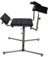 Preview: Universal spanking bench / Gyn chair made of stainless steel