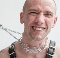 Necklace Chrome for extreme bondage