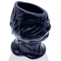 Oxballs PIGHOLE Squeal FF Veiny Hollow Plug -  Black