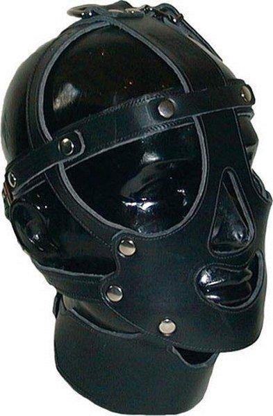 Augenmaske aus Leder