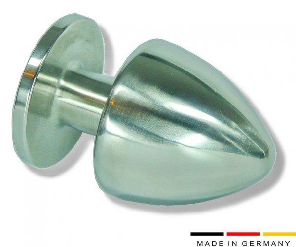 Der Buttplug Edelstahl ist für geübte Nutzer 80 mm!