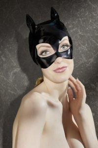 Kopfmaske im Kitty-Look