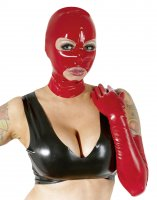 Preview: Rote Latex Kopfmaske