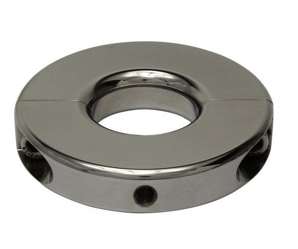 Ballstretcher of polish Stainless Steel 15 mm high, 350 g heavy