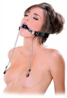 Preview: Deluxe Ball Gag and Nipple Clamps