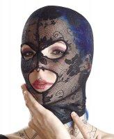 Preview: Leichte Kopfmaske aus Spitze
