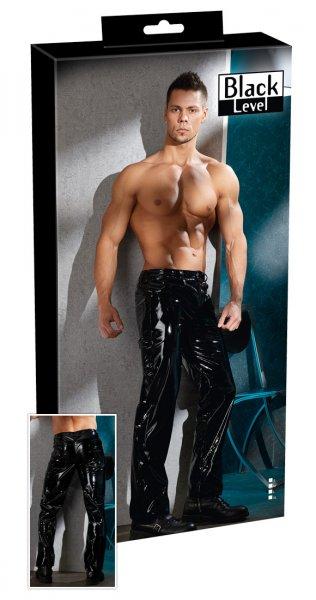 Men's Vinyl Trousers