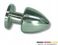Buttplug aus Edelstahl Ø 70 mm Made in Germany