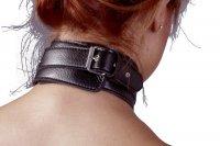 Preview: Hals-, Hand- und Fußfessel aus Lederimitat