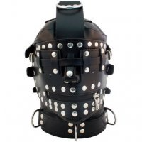 Mister B Leather Bondage Mask