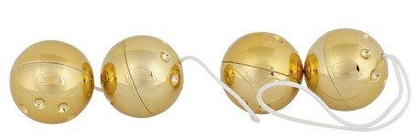 Liebeskugeln mit 24 karätiger Goldauflage
