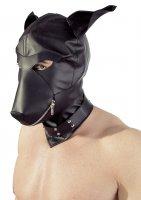 Preview: BDSM Maske im Hundekopf Design Seite