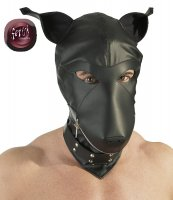 Preview: BDSM Maske im Hundekopf Design