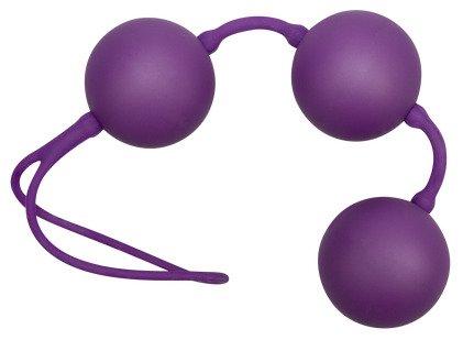Violettfarbene Liebeskugeln