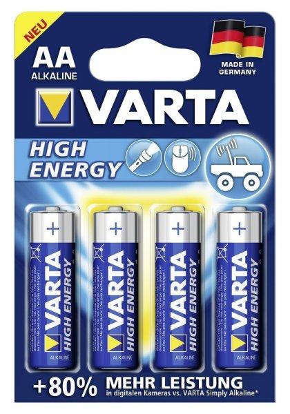 4 Varta AA Batteries