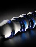 Preview: Glasdildo blau