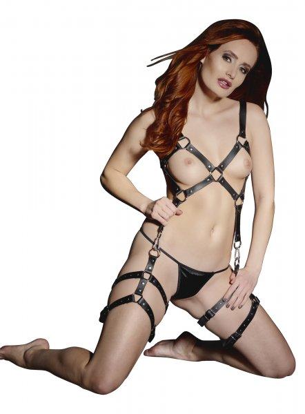 Harness für Brust und Oberschenkel mit Erweiterungsmöglichkeit