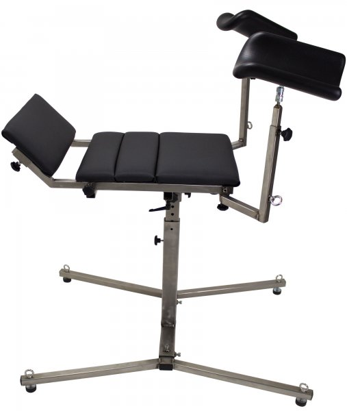 Universal spanking bench / Gyn chair made of stainless steel