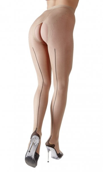 Open Nude Tights