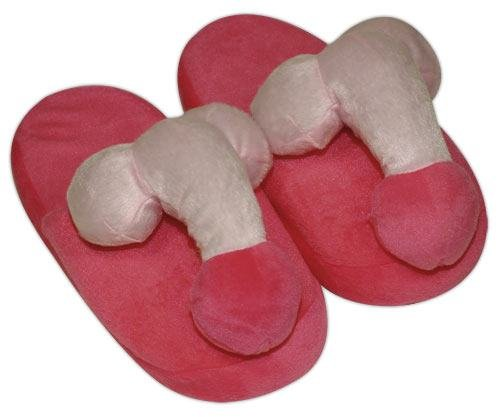 Plush Slippers »Penis«